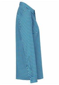 PETER HAHN - Button-down blouse - blau/ weiß - 4