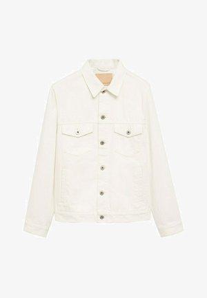 Jeansjakke - weiß