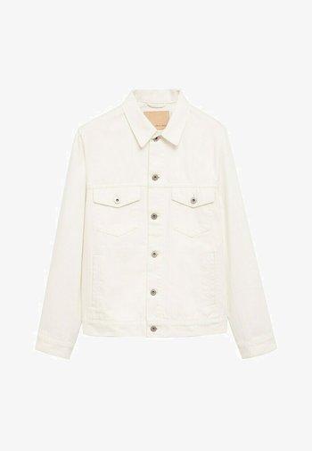 Giacca di jeans - weiß