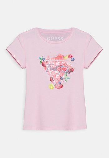 T-shirt print - alabaster pink
