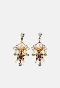 J.CREW - MIA STATEMENT EARRINGS - Náušnice - gold-coloured/alhambra green - 0