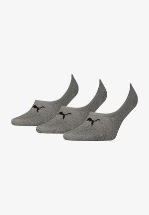 3 PAIRS PACK - Trainer socks - grau