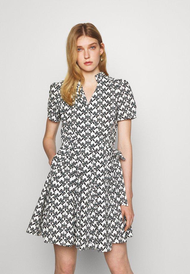 EVALINA DRESS - Sukienka letnia - trellis medium black