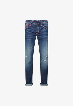 Slim fit jeans - ocean blue used