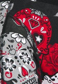 Jack & Jones - JACANTON TRUNKS 3 PACK - Underkläder - black/scarlet sage - 5