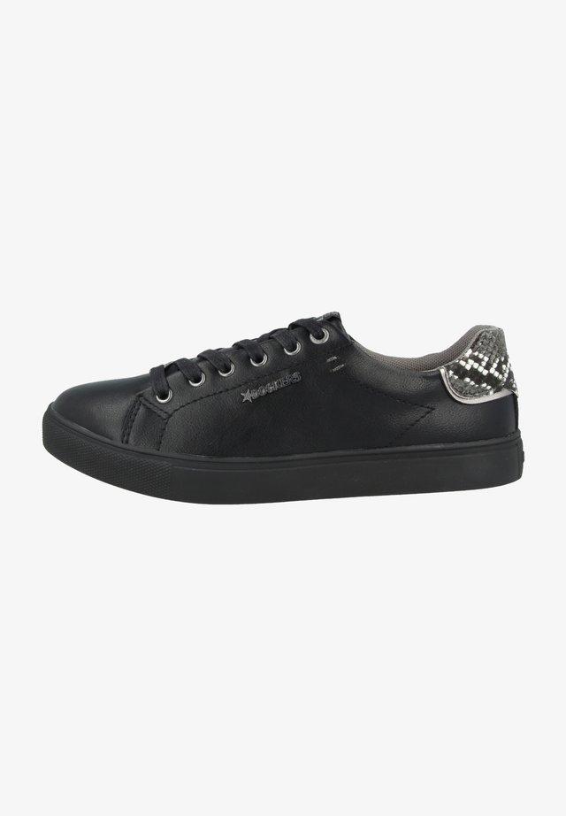 Sneakers laag - black-dark grey
