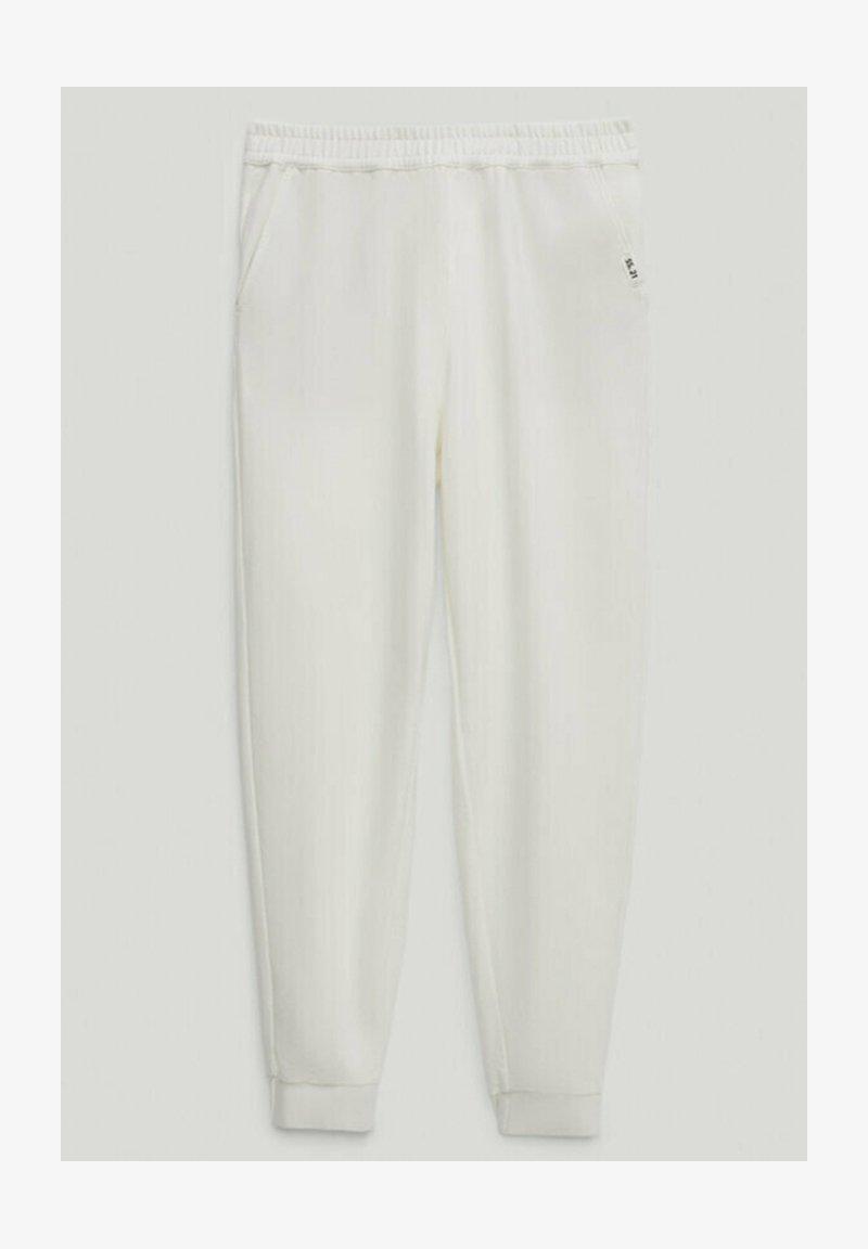 Massimo Dutti - Tracksuit bottoms - white