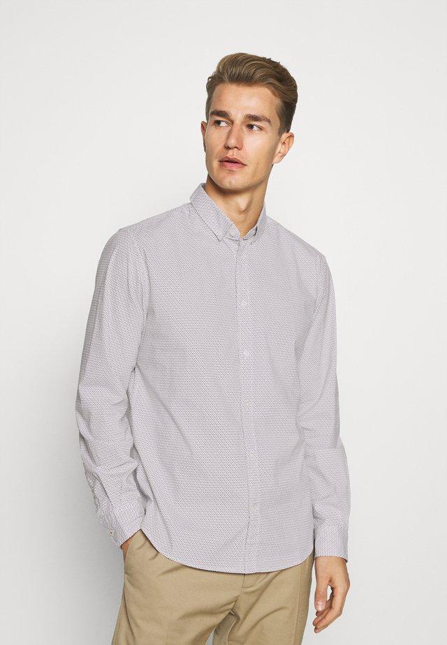 REGULAR PRINTED - Shirt - blue