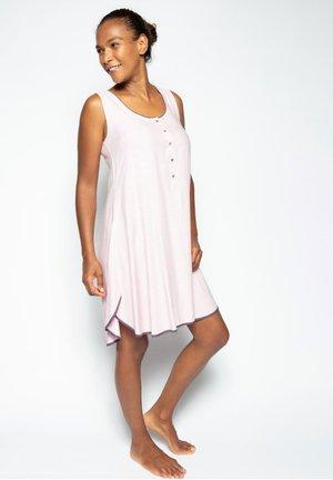 Camicia da notte - pink mini dot