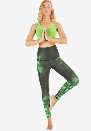 HWL102 BRILLIANT HIGH WAIST - Leggings - emerald
