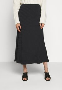 Filippa K - SKIRT - Jupe trapèze - ink blue - 0