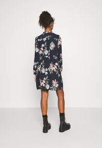 Vero Moda - VMSAGA SHORT DRESS - Day dress - navy blazer/sita - 2