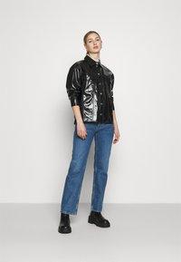 Weekday - KEISHA  - Button-down blouse - black - 1