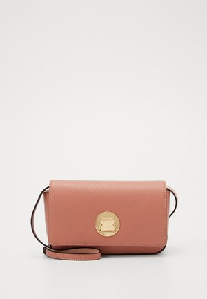 MINI BAG LIYA - Across body bag - litchi/rose