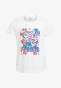 adidas Performance - TROPICAL GPX G - Print T-shirt - white - 0