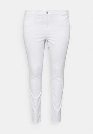 VMSEVEN MR SHAPE UP - Jeans Skinny Fit - bright white