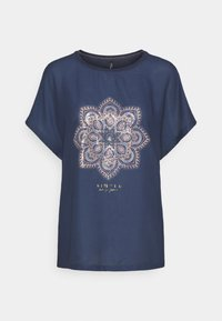 ONLY - ONLARIA BOX - T-shirts med print - ombre blue - 0