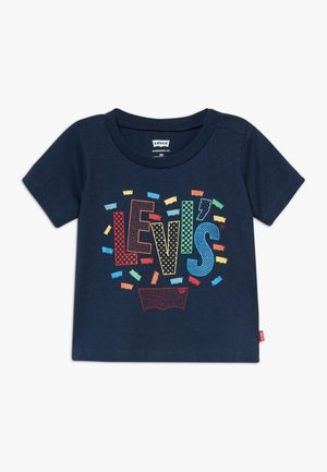 GRAPHIC TEE - T-shirt med print - dress blues