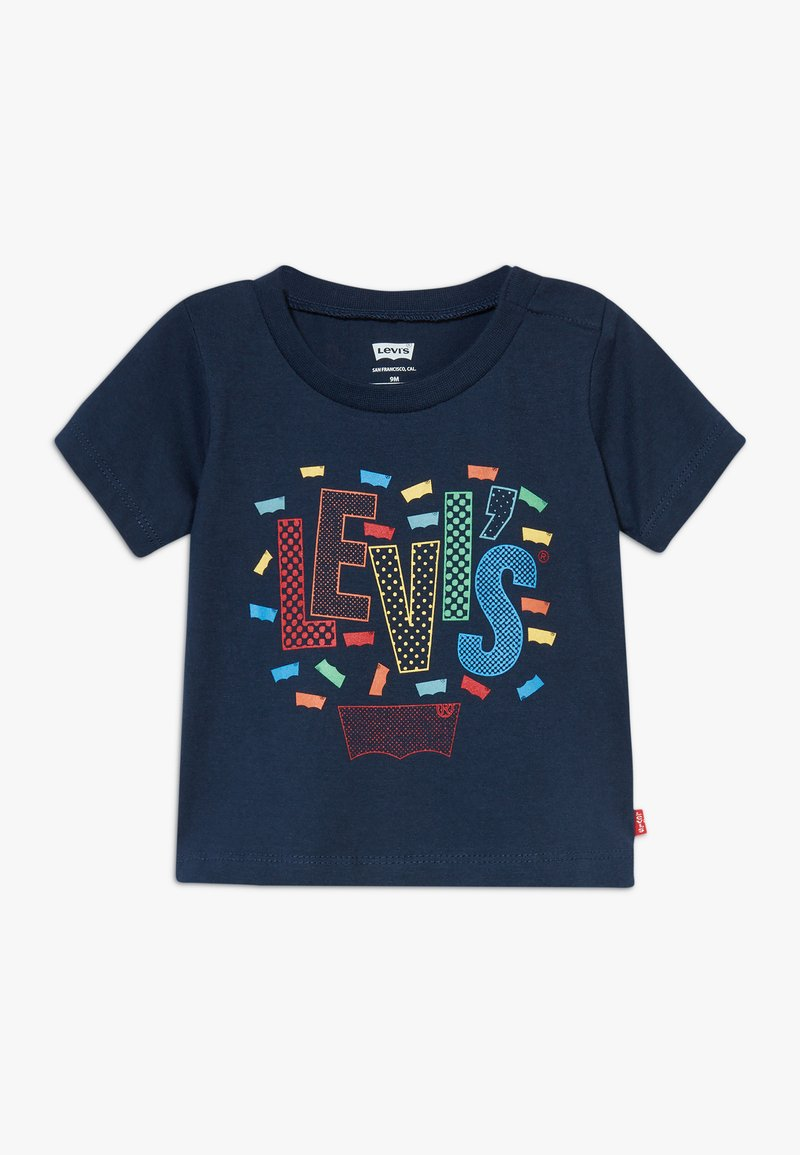 Levi's® - GRAPHIC TEE - T-shirt imprimé - dress blues