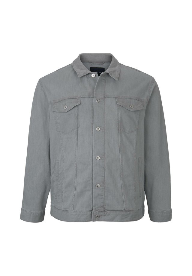 TRUCKER DENIM JACKET - Veste en jean - light stone grey denim