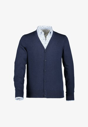Cardigan - navy plain