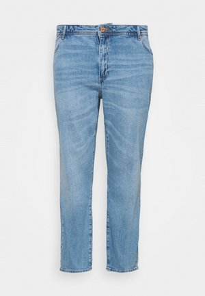 NMOLIVIA SLIM STRAIGHT - Džíny Straight Fit - light blue denim