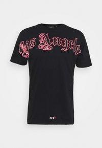 274 - SCRIPT TEE - Print T-shirt - black - 3