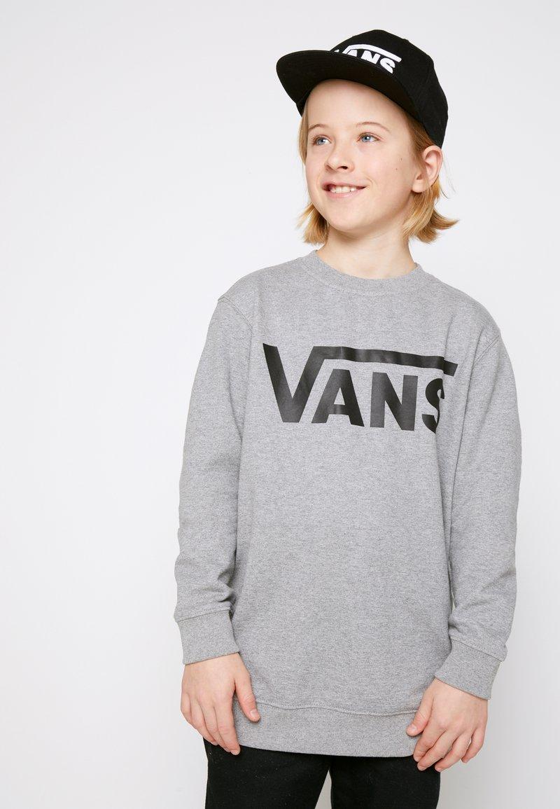 Vans - Sweater - concrete heather/black
