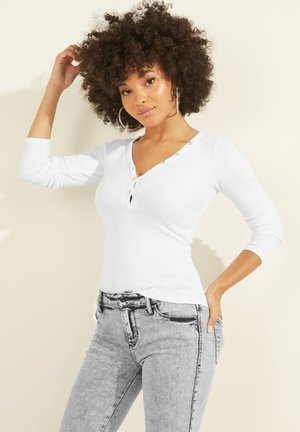 Long sleeved top - wit