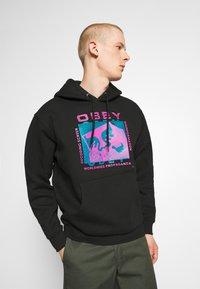 Obey Clothing - DECODING SCREENS - Hoodie - black - 0