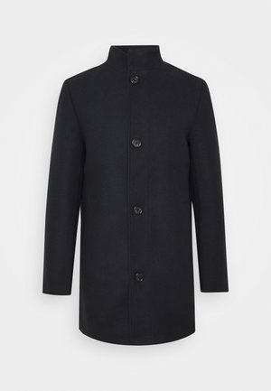 STAND UP COLLAR COAT - Cappotto corto - sky captain blue