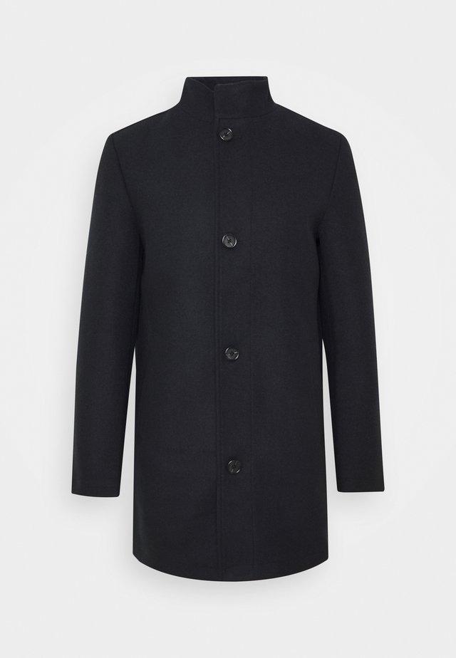 STAND UP COLLAR COAT - Short coat - sky captain blue