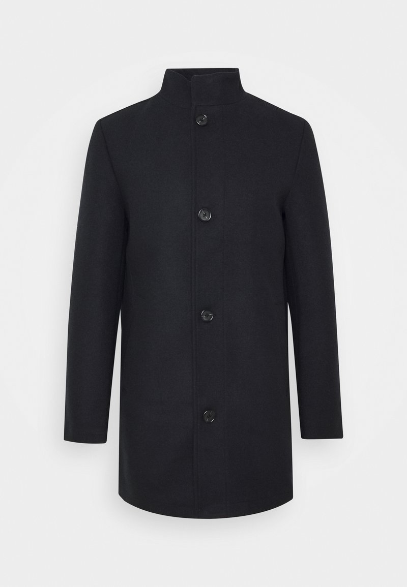 TOM TAILOR - STAND UP COLLAR COAT - Cappotto corto - sky captain blue