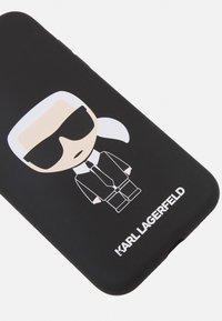 KARL LAGERFELD - IKONIK CASE IP11 - Handytasche - black - 3