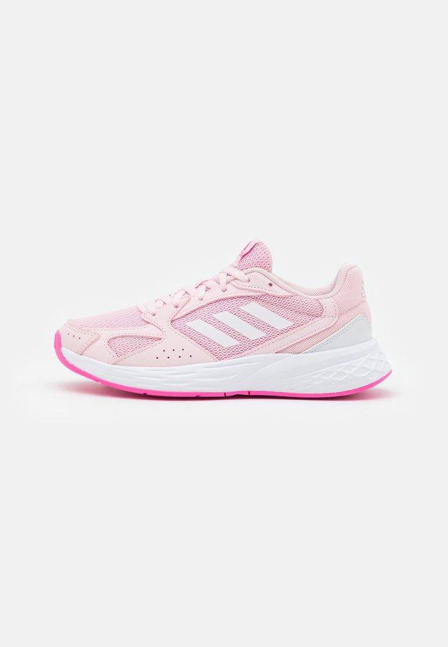 RESPONSE RUN - Hardloopschoenen neutraal - clear pink/footwear white/screaming pink