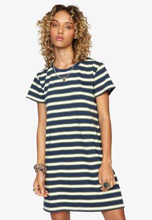Jersey dress - moody blue