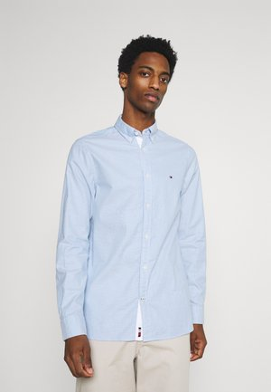 SLIM FLEX DOBBY - Shirt - copenhagen blue