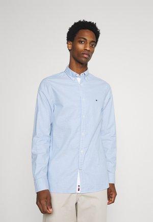 SLIM FLEX DOBBY - Camisa - copenhagen blue