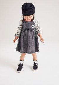 Next - PANDA  - Denim dress - dark grey - 0