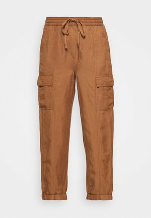 CARGO - Cargo trousers - brown