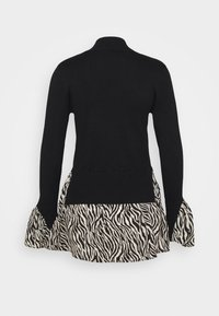 New Look - ZEBRA   - Jumper - black - 1