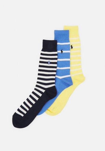 FOULAR 3 PACK - Socks - harbour blue