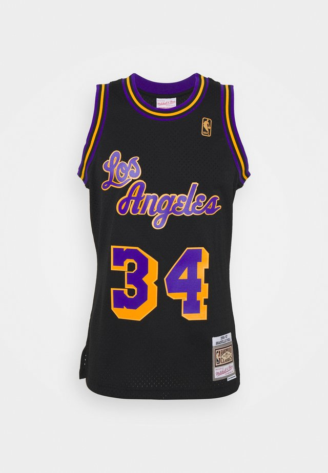 NBA LOS ANGELES LAKERS RELOAD SWINGMAN SHAQUILLE O'NEAL - Article de supporter - black