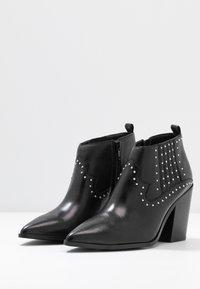 ALDO - PRAUCLYA - High heeled ankle boots - black - 4