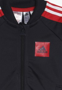 adidas Performance - SHINY TRACKSUIT BABY SET - Tuta - legend ink/vivid red/white - 5