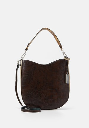 BERLY - Handbag - brown/kombi