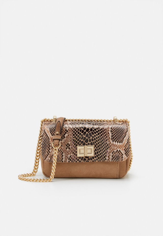 CROSSBODY BAG MUR - Schoudertas - beige