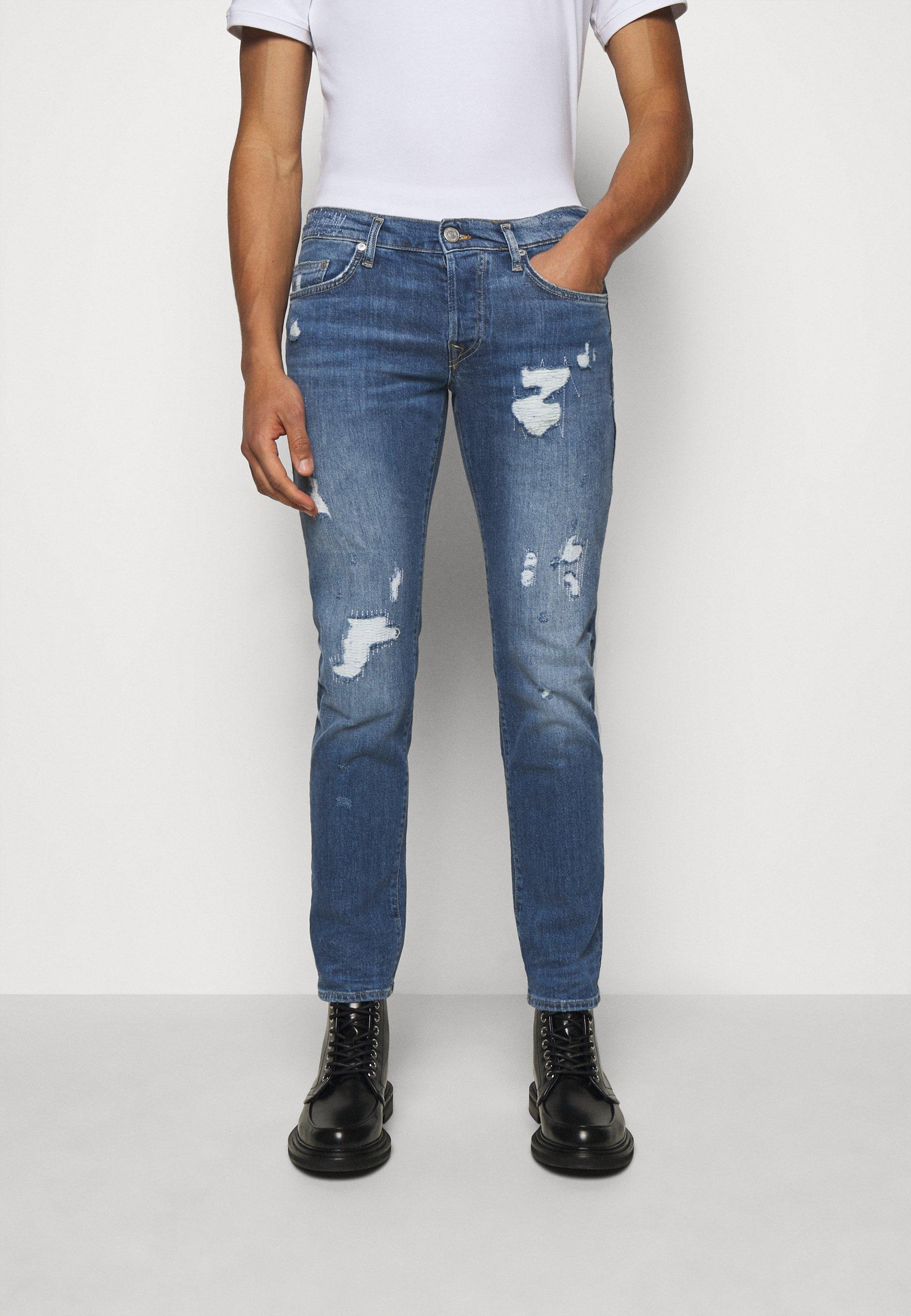 Men ROCCO DESTROYED - Slim fit jeans