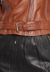 BTFCPH - EMMA - Leather jacket - cognac - 7
