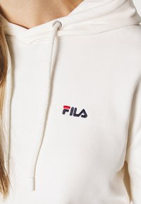 Fila - EBBA HOODY - Felpa con cappuccio - eggnog - 4